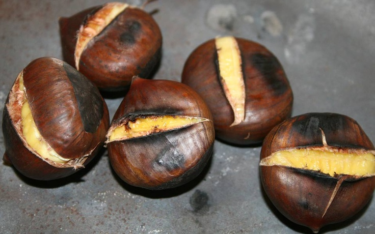 roasted chestnuts a christmas tradition | Chestnuts Roasting On An Op ...