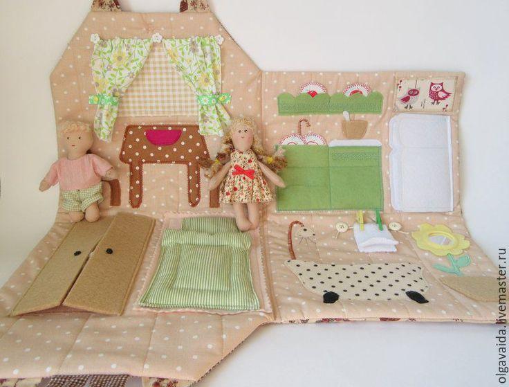 Мягкий домик для куклы своими руками 127