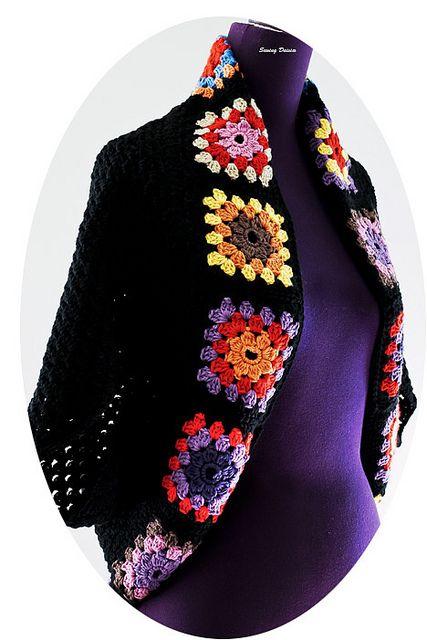 Crochet: Granny Square Shrug
