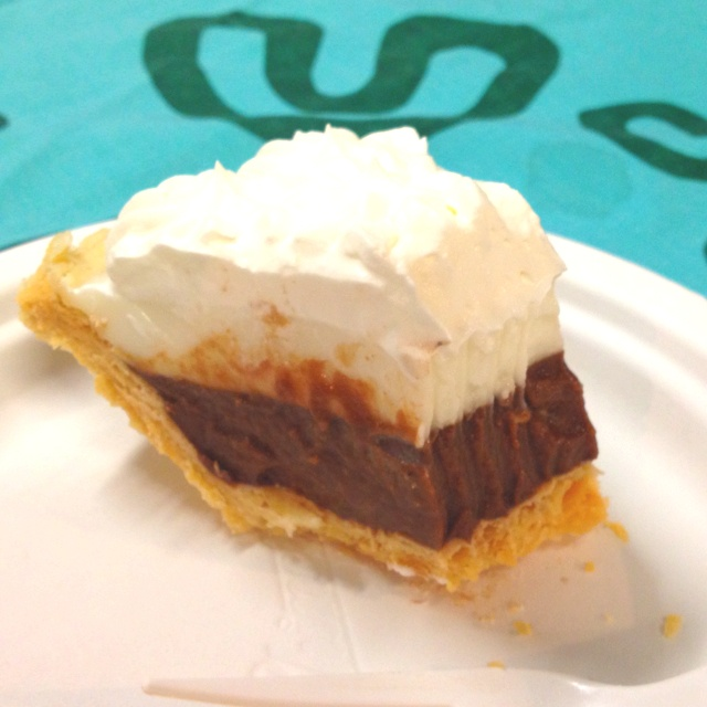 Chocolate haupia pie! #teds | Yummy-licious | Pinterest