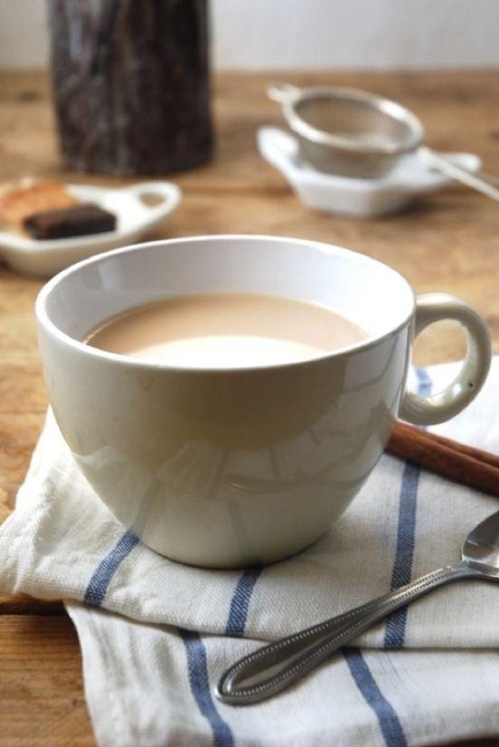 Homemade Chai - Snip of Mint | Last Call | Pinterest