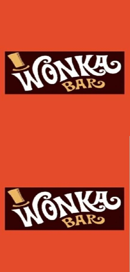 Luscious image regarding printable wonka bar wrapper