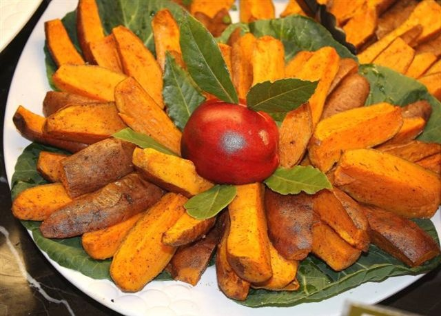 Roasted sweet potato wedges! | mmm... and its healthy!! | Pinterest