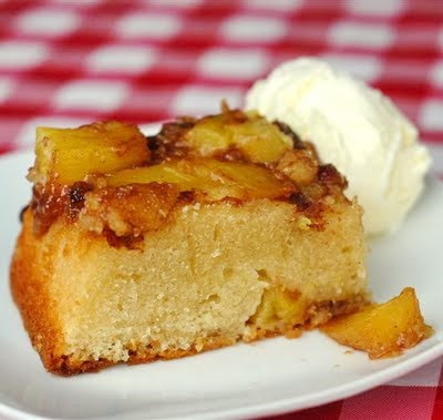 upside down cake caramelized pineapple upside down cake pineapple ...
