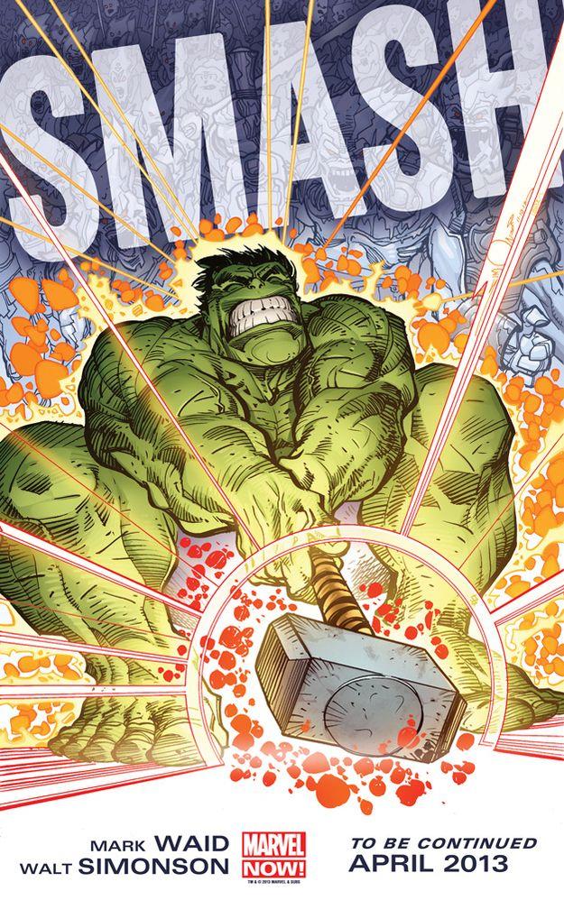 hulk thor hammer