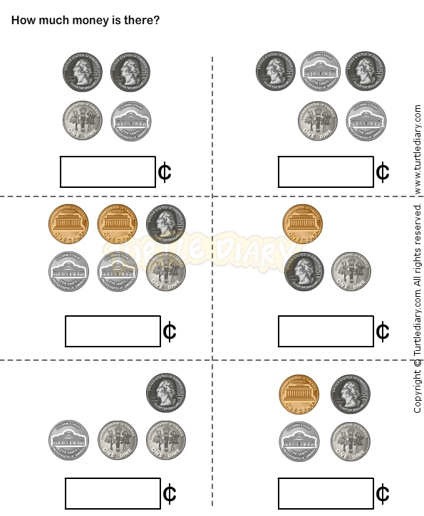 ... Printable Play Money Coins Moreover Free Printable Money Worksheets