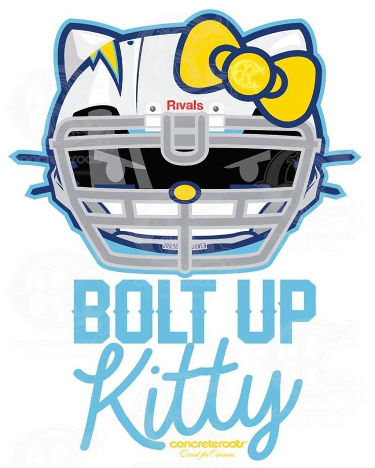 San Diego Chargers Bolt Up