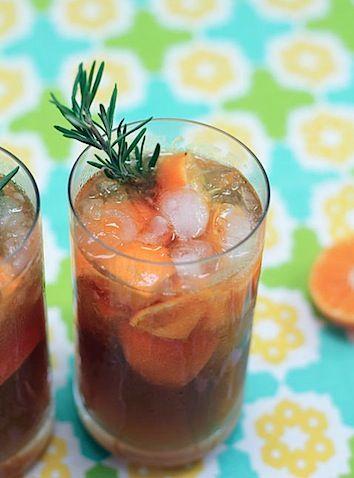 Rosemary-Tangerine-Cooler | It's 5:00 somewhere... | Pinterest