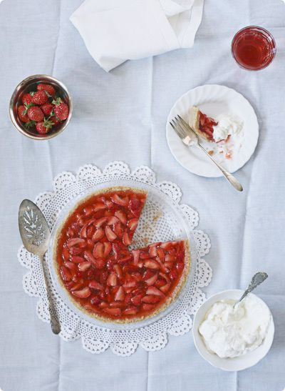 Fresh Strawberry Pie With Ginger Recipes — Dishmaps