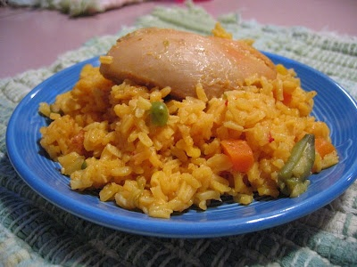 Spanish Chicken and Rice - this is an old recipe of mine (back from ...