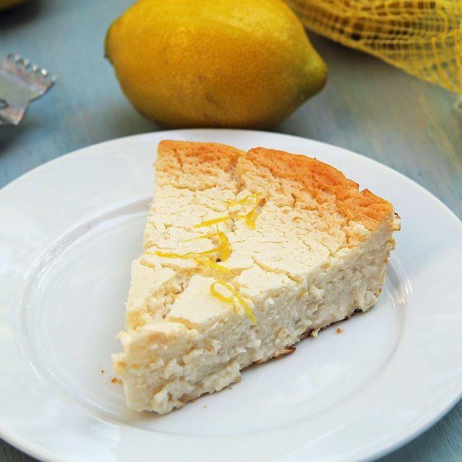 Crustless Lemon Honey Cheesecake | cakes, cheesecake, roulades trifle ...
