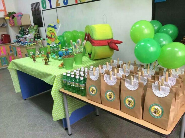 Centro de mesa tortugas ninja imagui for Buscar decoraciones