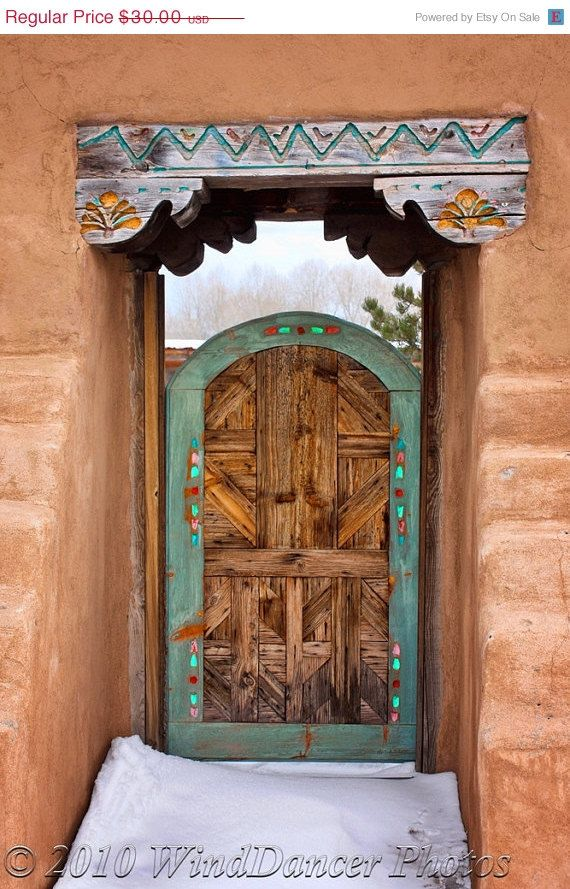 Wooden gates old