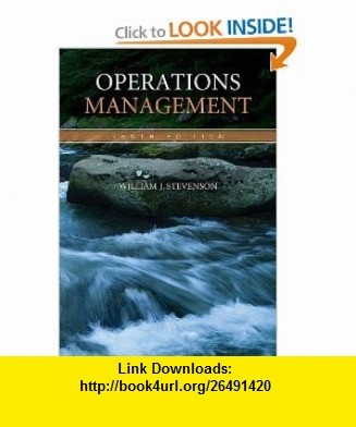 OPERATIONS MANAGEMENT WILLIAM STEVENSON PDF DOWNLOAD