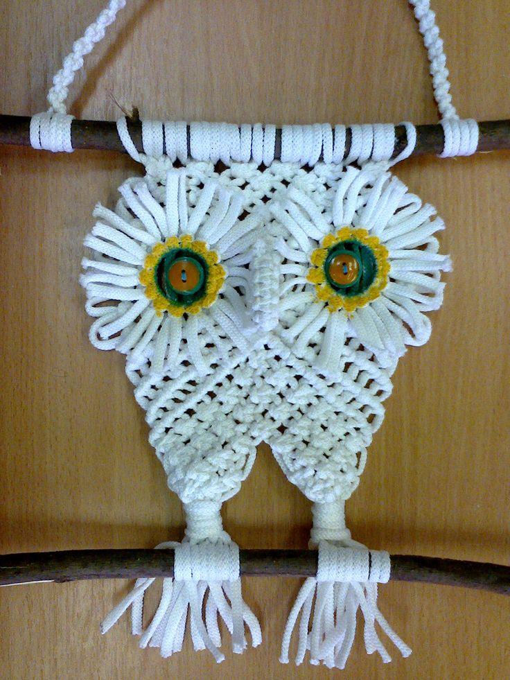 Мастер класс по плетению макраме для кашпо