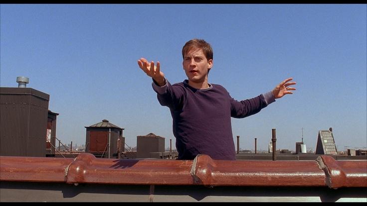 """""""Go, web! Fly. Up, up and away, web! Shazam. Go! Go! Go, web, go!"""""""