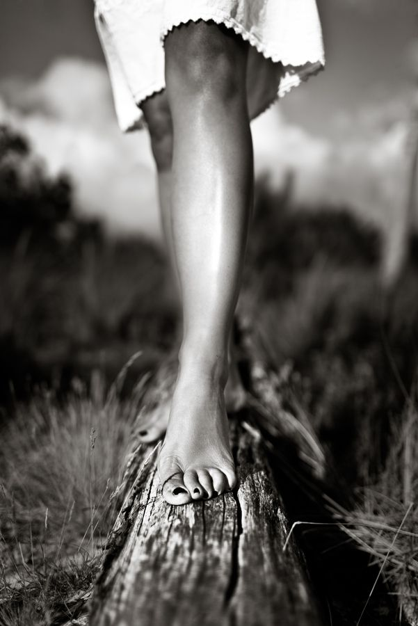 Bare Legs, Bare Feet!  by Benoit COURTI