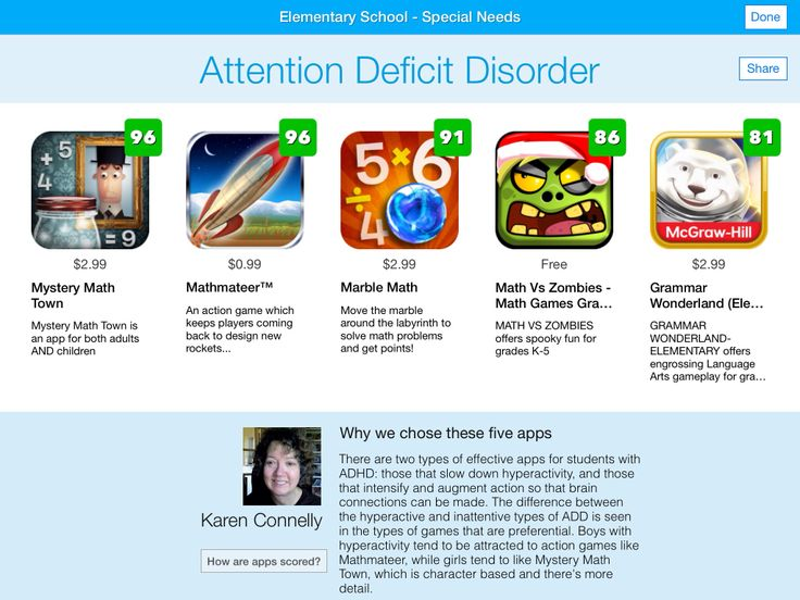 attention deficit disorder appendix data set Attention deficit hyperactive disorder in addition to the criteria set out in learning disabilities section that may also apply to adhd, the medical and/or clinical diagnosis for adhd should include an adult-based evaluation and the following that supports the diagnosis.