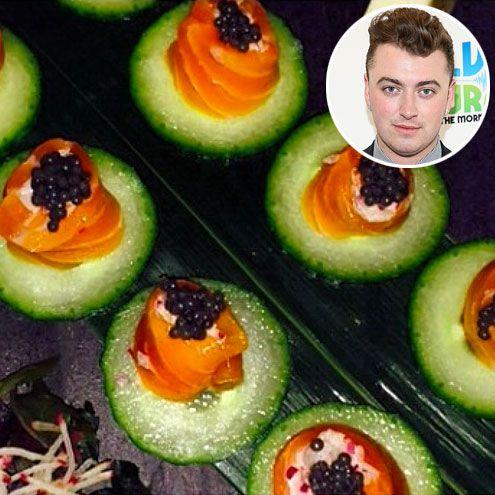 Smoked Salmon With Caviar On Cucumber Recipe — Dishmaps