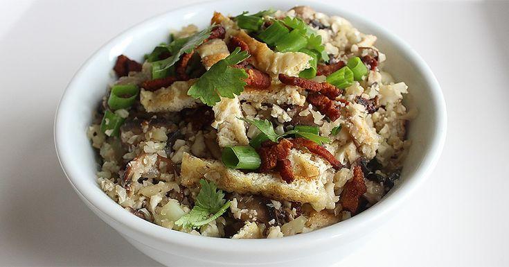 Asian Cauliflower Fried Rice | Recipe
