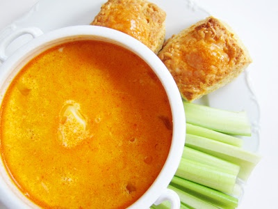 buffalo chicken corn chowder ~ I will try this today, but without the ...