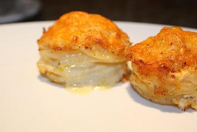 ... Inspired Muffin-Pan Potato Gratin | Farm Fresh Recipes | Pinterest