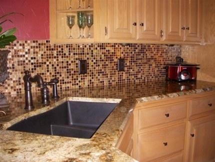 Sample Coffee Bean Tile For Kitchen Backsplash Pinterest