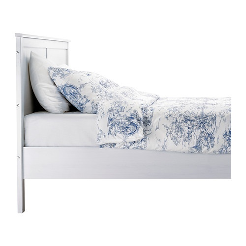 Ikea Kitchen Island Adelaide ~ ASPELUND Bed frame IKEA Adjustable bed rails allow the use of