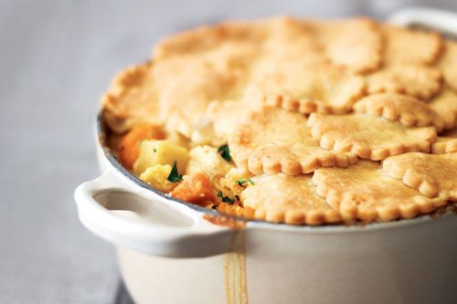 Curried Chicken Pot Pie   100 Most Popular Canadian Family Recipes ...