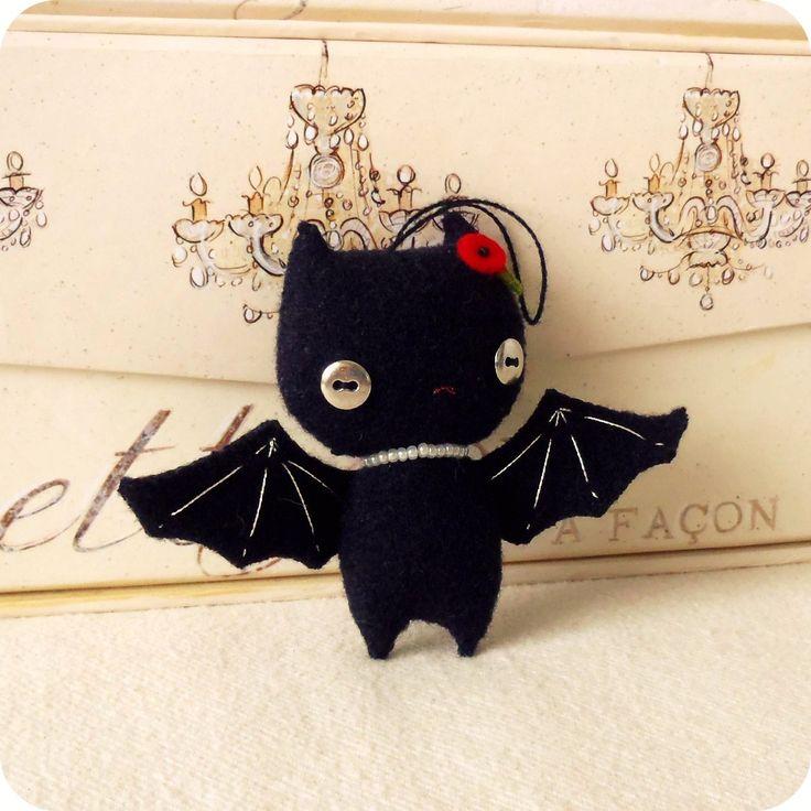 Halloween Bat Ornament