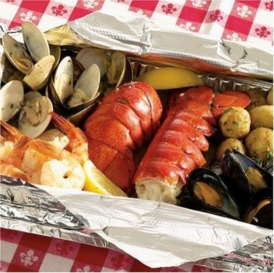 Seafood Bake! | Crab legs, Low Country Boil, Clam Bake, Fish, Shrimp ...