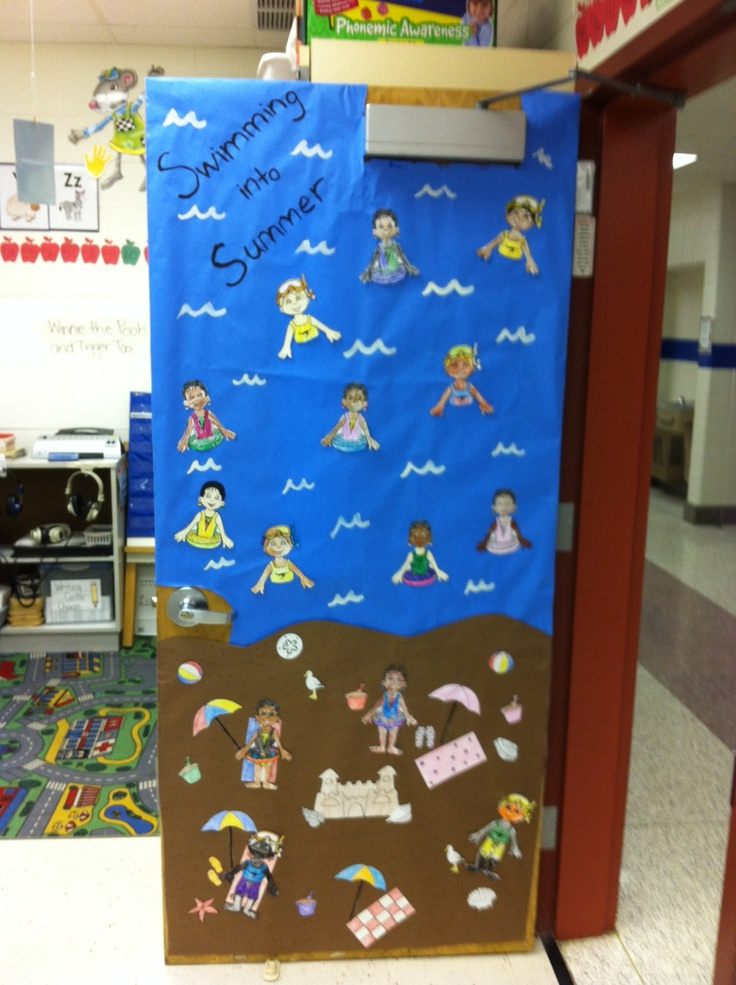 Summer Classroom Door Decorations ~ Classroom door decoration ideas summer