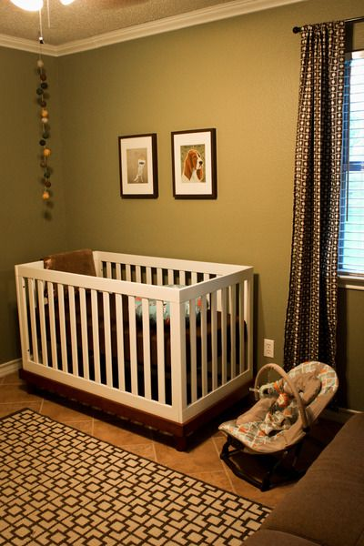 Simple boy nursery maybe a baby pinterest - Simple baby room ...