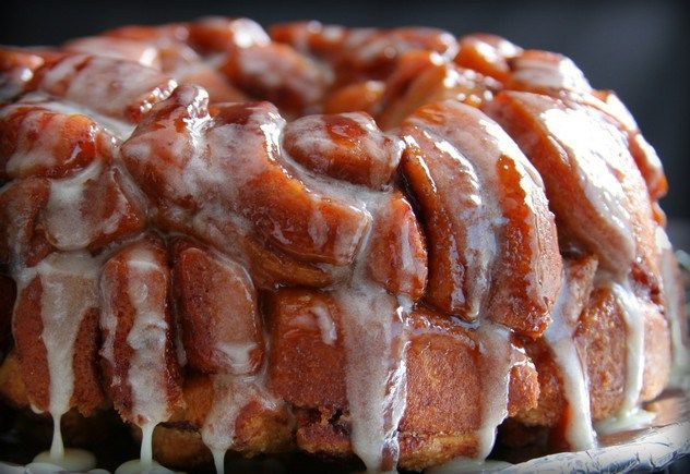 What....Monkey bread with grands cinnamon rolls. A big step up from my ...