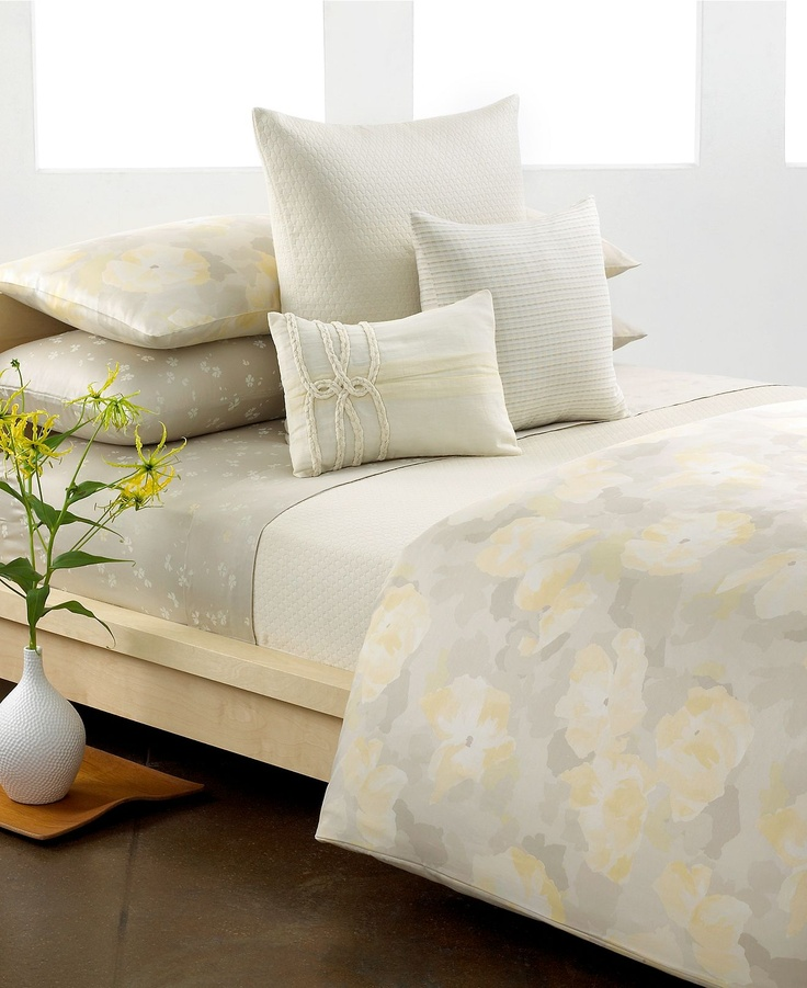 CLOSEOUT! Calvin Klein Poppy Comforter and Duvet Cover Sets