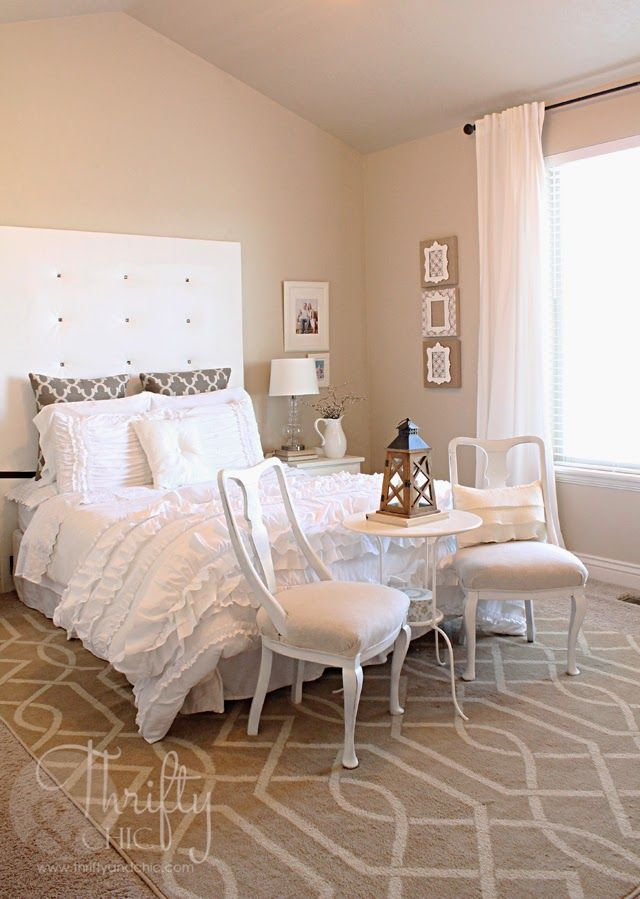 Shabby Chic Master Bedroom | zzzz bed time | Pinterest