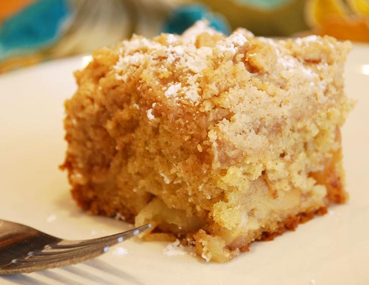 Apple Crumble Coffee Cake | recipe ideas | Pinterest