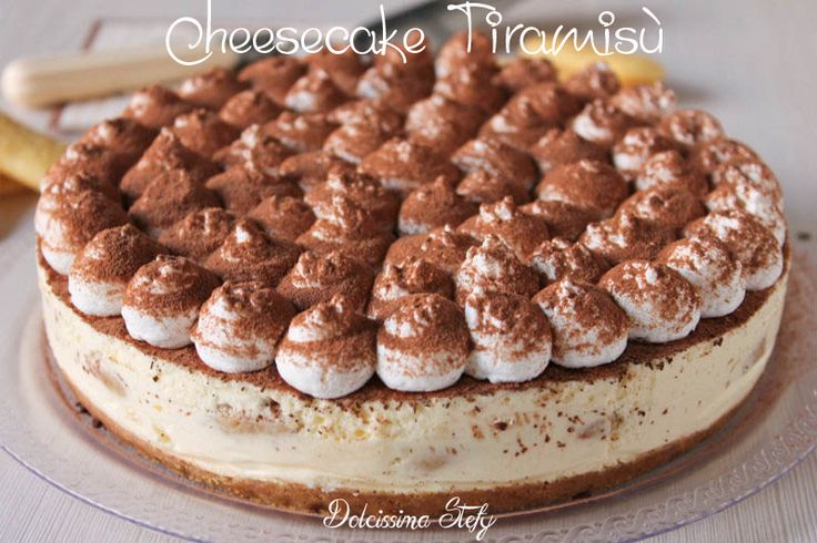 Cheesecake Tiramisù with our Tray Liscio #Poloplast