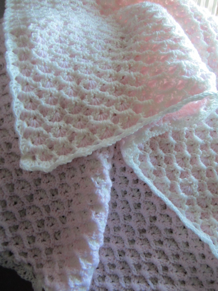 Double Sided Crochet Baby Blanket Pattern : Pin by Shawn Carty on Crochet Some Day Pinterest