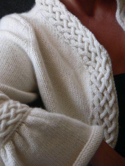 Free pattern for elegant bolero FREE Knitting Patterns (The Larges?