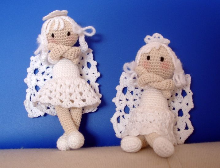 Angel Amigurumi Tutorial : Amigurumi Angel Free Pattern Crochet Pinterest