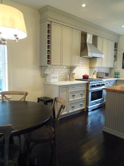Crown Molding On Kitchen Bulkhead Home Reno Pinterest