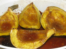 Sweet Roasted Rosemary Acorn Squash Wedges Sweet and Spicy with ...