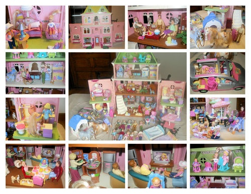 fisher price dollhouse: