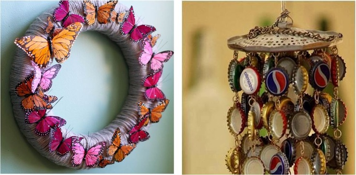 Pin by garima thakur on m d w rk pinterest for Best out of waste things