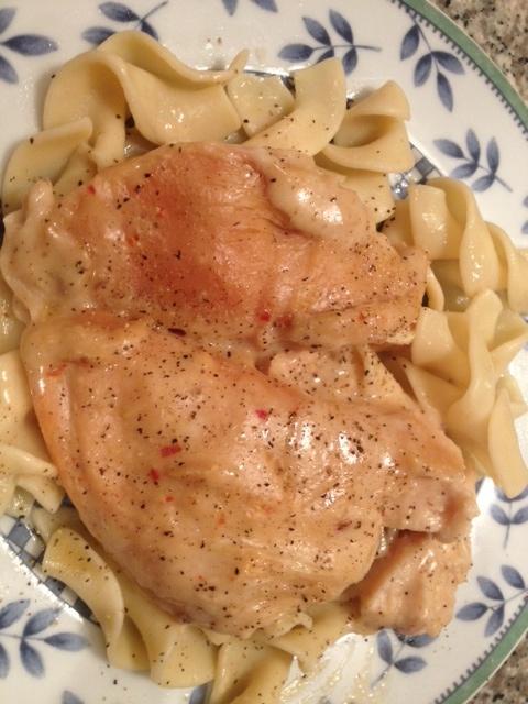 Slow Cooker Chicken Stroganoff Recipe — Dishmaps
