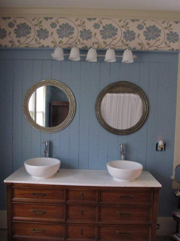 Excellent  Out Of An Old Dresser  Make A Template Dresser Bathroom Vanity Out