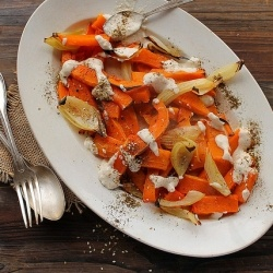 Roasted butternut squash and onions | Vegetarian | Pinterest
