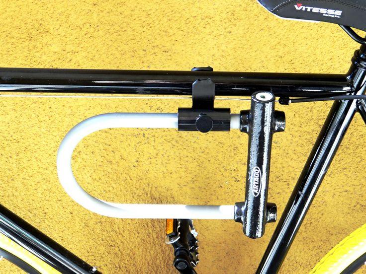 the u lock holder bracket artago bicycle locks and security solut. Black Bedroom Furniture Sets. Home Design Ideas
