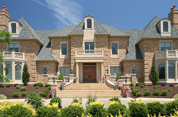 beautiful brick homes exterior